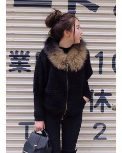 111 Extra warm with fur fox