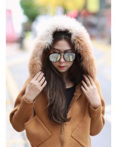 172 Sweater extra warm Furfox & hood