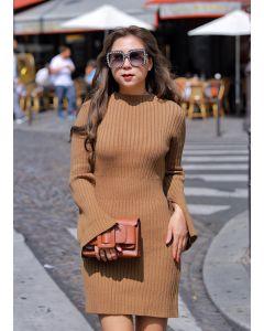 295 Thick Knitting Dress