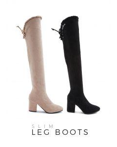 399 Slim Leg Boots
