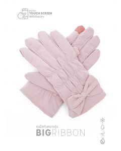 498 ถุงมือกันหนาวรุ่น Big Ribbon